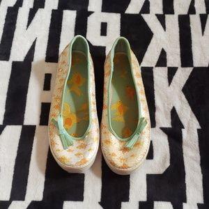 Rare Goldfish Keds tennis shoes